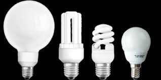 Figure 1:  Different types of fluorescent lamps