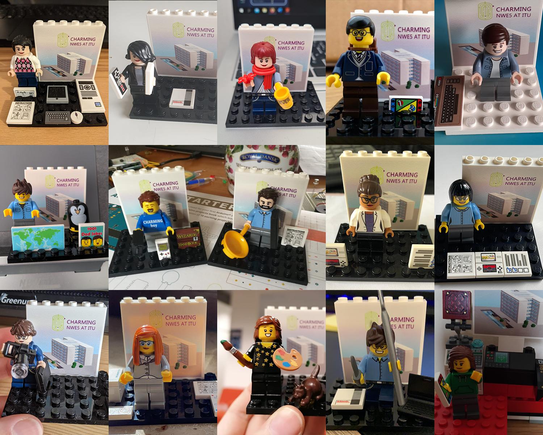 Lego 15 ESRs collage